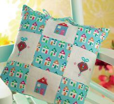 Cross-Stitch Home Cushion
