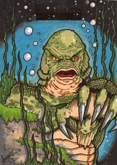 Creature From The Black Lagoon by *3DXStudios