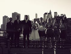 Four bridesmaids, two groomsmen