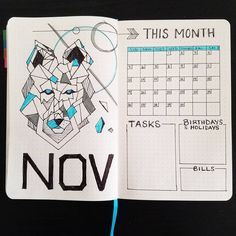 """Timid Bujo (@timid.bujo) on Instagram: """"NOVEMBER 