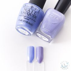 Polish Hound: Zoya Spring 2016 Petals Collection: Aster VS OPI- Show Us Your Tips!
