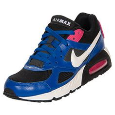 The Women\u0026#39;s Nike Flex Air Max IVO Running Shoes - 580519 406 - Shop Finish Line today! Hyper Blue/Sail/Black/Pink Force \u0026amp; more colors.