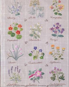 EMBROIDERY ON LINEN - EMBROIDERY DESIGNS