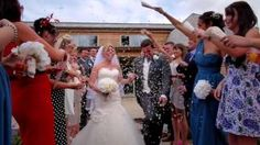 Combine your original song and your wedding footage and what do you get? Your own music video!
