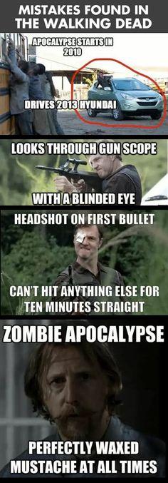 The Walking Dead mistakes…