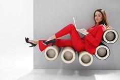Contemporary Lounge Chair by KLUN DesignRulz.com