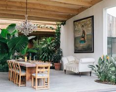 mork-ulnes architects bring lush foliage into artist studio and home in california