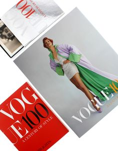 #Vogue100: A Century of Style catalogue, highlights book and postcard box set
