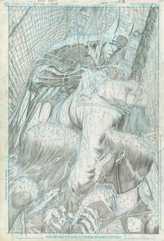 xcyclopswasrightx: Unpublished, unfinished Batman story, by Art Adams * This guy has been one of my favorite artists since I was a boy. The first time I saw his stuff was in X-Factor where the team goes to the UK to find a new mutant named. Comic Book Pages, Comic Book Artists, Comic Book Characters, Comic Artist, Comic Books Art, Artist Art, Batman Story, Batman Art, Batman Robin