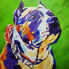 Pop Art Pet Portrait Athena  12in x 12in x 1.375in  I love how this one turned out Athena is a Goddess!  Want a commission? Visit my website for pricing and go to my Etsy Shop to purchase. www.camerondixon.com  #nyc #newyork #newyorkcity #manhatten #eastharlem #ilovenyc #contemporaryart #modernart #photooftheday #igersofnyc #newyorkart  #newyorkartist #nyart #popart #petportrait #petpainting #dogpainting #abstractart #commissionedartist #instadog #dogsofinstagram #dog  #americanbully #bully…