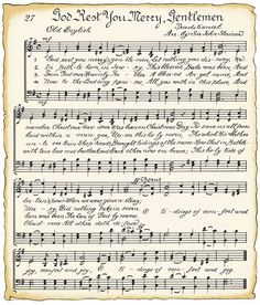 VintageFeedsacks: Vintage looking sheet music for Christmas carols, plus tons of other adorable vintage images.