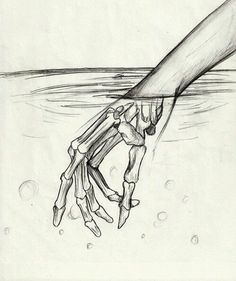 You never truly know what your future holds for you…. Until you stick your hand in a pool of water~ X3
