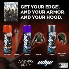 DLC de Assassin's Creed Unity incluído em gel de barbear