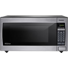 Panasonic NN-SN752S Stainless 1250W 1.6 Cu Ft.?? Countertop/Built-in Microwave with Inverter Technology, Silver