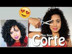 Como cortar cabelo cacheado em camadas | Manual dos Cachos - YouTube