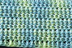 Named after the beautiful Tunisian lace stitch designed