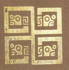 Swastika - Encontrada en cerámica de la Cultura Tiwanaku - founded on tiwanaku ceramic