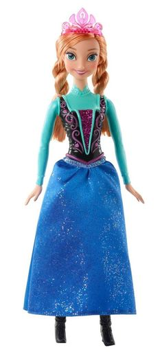 For Allison - Disney Sparkling Princess Anna Doll. I'm not sure if she would like Anna or Elsa better.