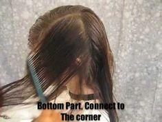 Long Layer Hair Cut - Step by Step -