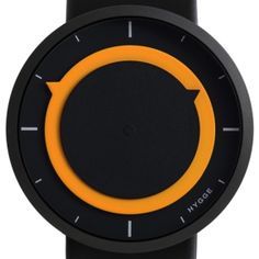 The HYGGE Watch – 3012 Series replaces the traditional hands of a watch with two sophisticated rotational discs. Amazing Watches, Cool Watches, Watches For Men, Unique Watches, Dream Watches, Casual Watches, Aftershave, Dezeen Watch Store, Moda Masculina
