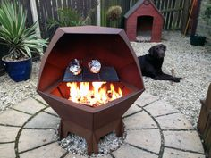 Decahedron Fire Pit