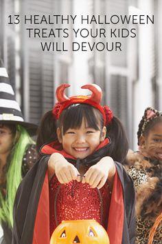 13 Healthy Halloween Treats Your Kids Will Devour