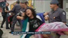 Galdinosaqua em São Paulo: País e alunos passarão madrugada em escola para evitar novas invasões