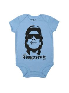 Eazy-E Lil Thugster Baby Bodysuit