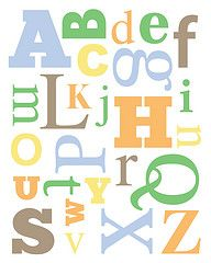 Alphabet Nursery Printable