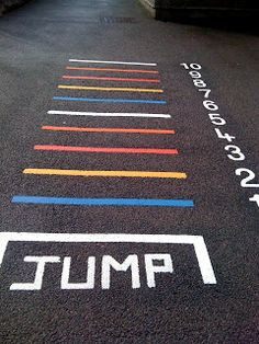 Creative playground markings