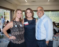 Diann Prechel, Cheryl Goar and Nick Koury at the University of Arizona Cooperative Extension Centennial celebration at the Phoenix Zoo. Oct 4, 2014.