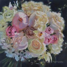 "A unique Wedding gift idea- A ""Forever Bouquet Painting"" by Pat Fiorello. http://patfiorello.com/wedding_bouquet.html"