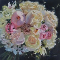 "Save the memories of your wedding day with a   ""Forever Bouquet Painting"" by Artist Pat Fiorello, See more at: http://patfiorello.com/wedding_bouquet.html"