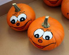 Pumpkin, medicinal product, food, and decor for Halloween . Halloween Rocks, Halloween Pumpkins, Halloween Crafts, Halloween Decorations, Halloween Ideas, Pumpkin People, Cat Pumpkin, Pumpkin Carving, Pumpkin Painting