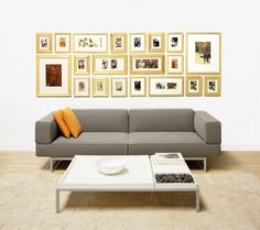 You get a perfect picture gallery wall with Picturewall