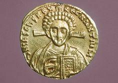 Solidus of Justinian II (705-715)