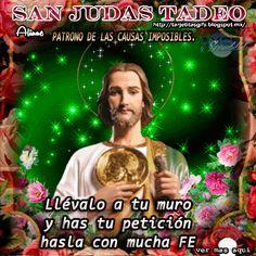 Tarjetitas en Gifs: San Judas Tadeo (oración)