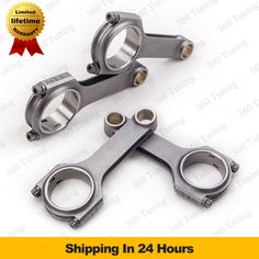 Connecting Rod Rods for VW Audi S3 A3 A4 A6 1.8T TT AEB ANB APU ARP2000 Pleuel Bielle 4340 Forged 4340 Forged H Beam 144mm race
