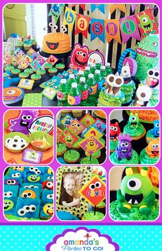 Monster Party Birthday - Monster Bash -
