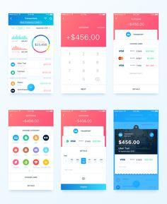 Finance app new transaction