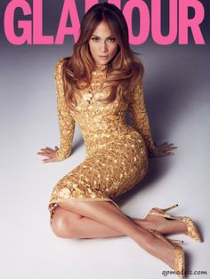 Jennifer Lopez.  Glamour UK.  March 2014.  Scoured pinterest for this gorgeous number.  Wish I knew the designer.