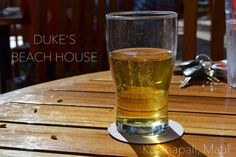 DUKE'S BEACH HOUSE - Ka'anapali, Maui - Happy Hour! カアナパリにあるレストラン、デュークス・ビーチハウスのハッピーアワーに行ってきましたで。冷たいビールが美味かったー♡ #maui #kaanapali #beer #happyhour #dukesbeachhouse