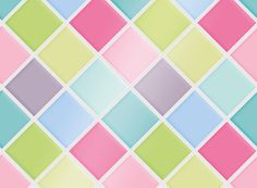 "Kitchen Tile Decal Tile Stickers Set ""Pastel Night"" for bathroom or kitchen"