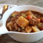 Slow Cooker Beef Stew  ~~  Southern Bite  southernbite.com