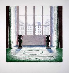 David Hockney, Two Vases in the Louvre
