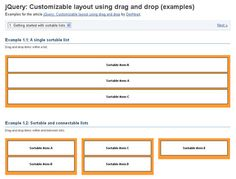 25 jQuery Drag and Drop Plugins