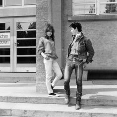 Vintage Photographs Document the Defiant Street Styles of Swiss Rebel Youth From the Late 1950s Through the '60s ~ vintage everyday
