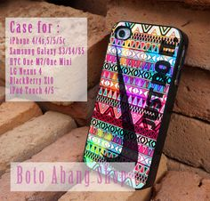 colorful aztec nike just do it case iphone by botoabangshop