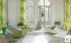 WILLOW FLOWER  £75/metre    Designers Guild Fabrics - Shanghai Garden Collection