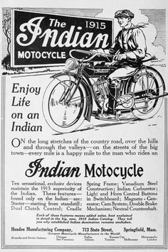 in 1915 Three Unser boys to two Indians and the first sidecar to the summit of Pikes Peak